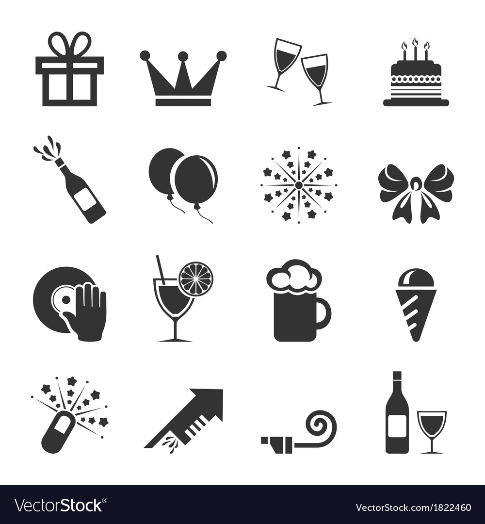 Holiday an icon2 vector | Price: 1 Credit (USD $1)