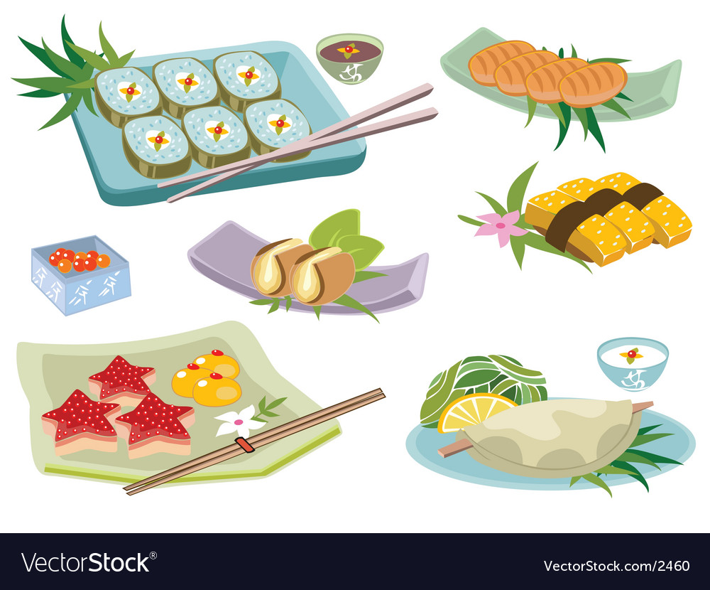 Japanese food vector | Price: 5 Credit (USD $5)