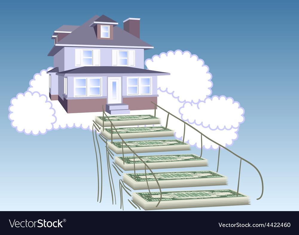 Mortgage loan vector | Price: 1 Credit (USD $1)
