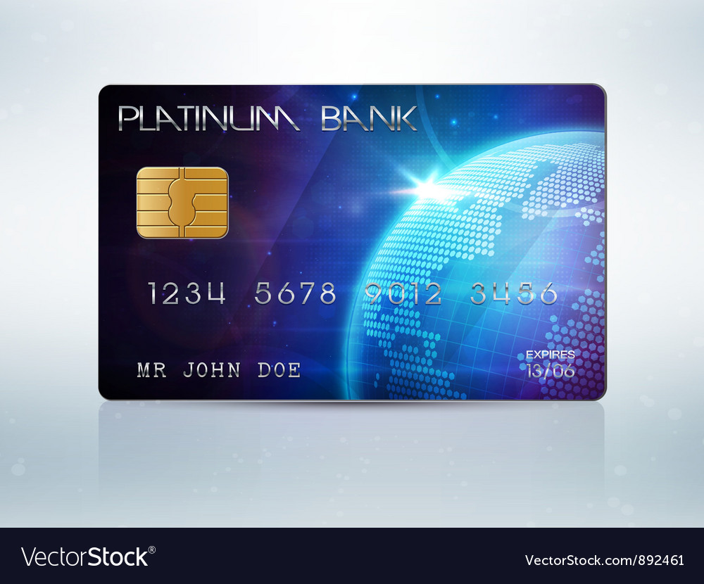 Credit card vector | Price: 3 Credit (USD $3)