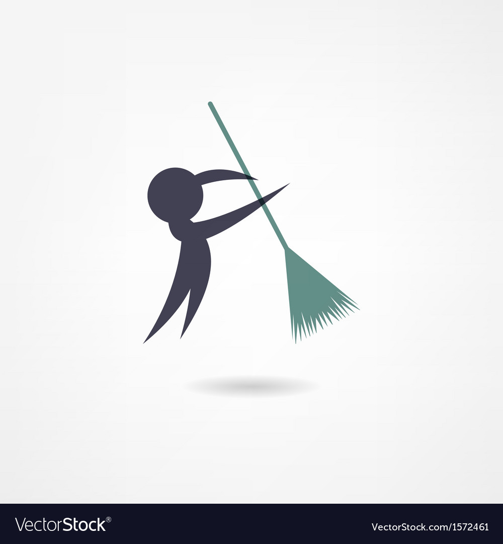 Janitor icon vector | Price: 1 Credit (USD $1)