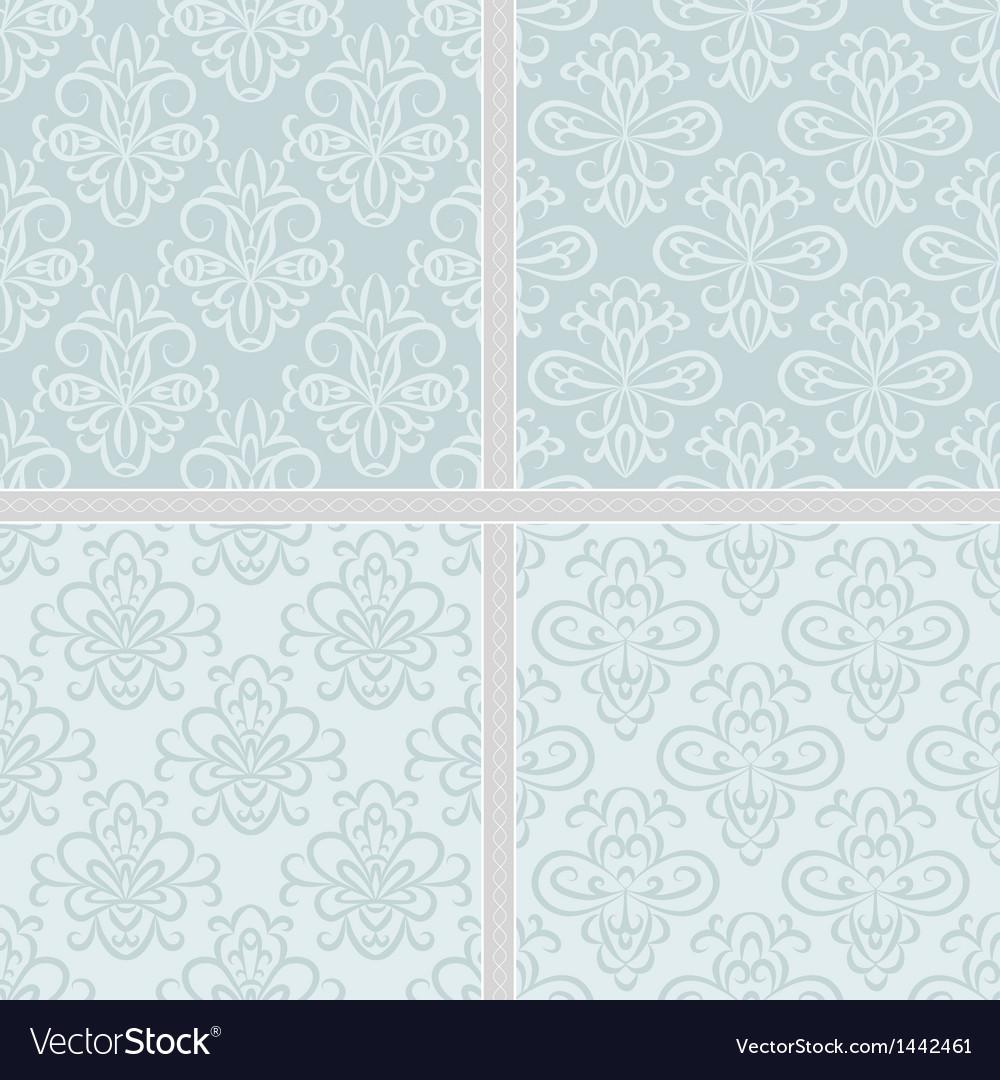 Summer green ethnic pastel pattern vector | Price: 1 Credit (USD $1)