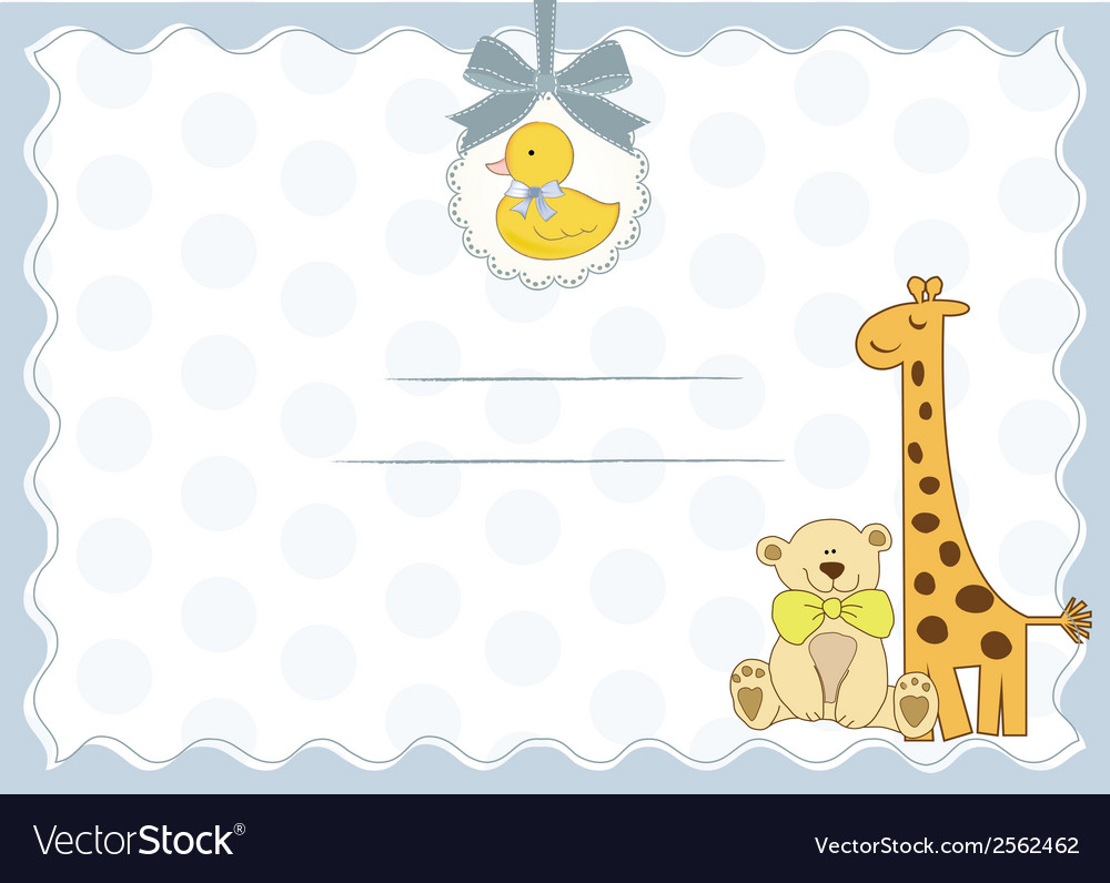 New baby arrived vector | Price: 1 Credit (USD $1)