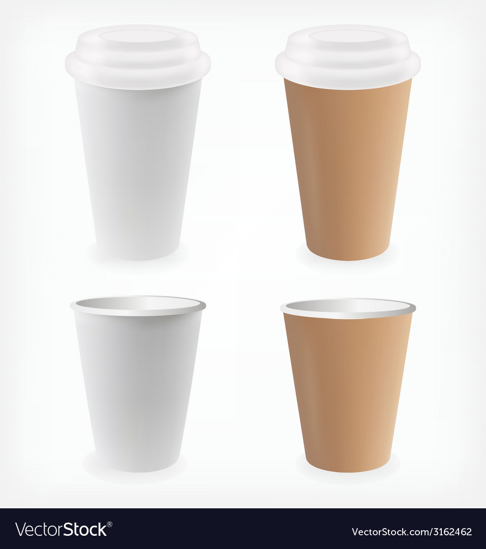 Paper cup vector | Price: 1 Credit (USD $1)