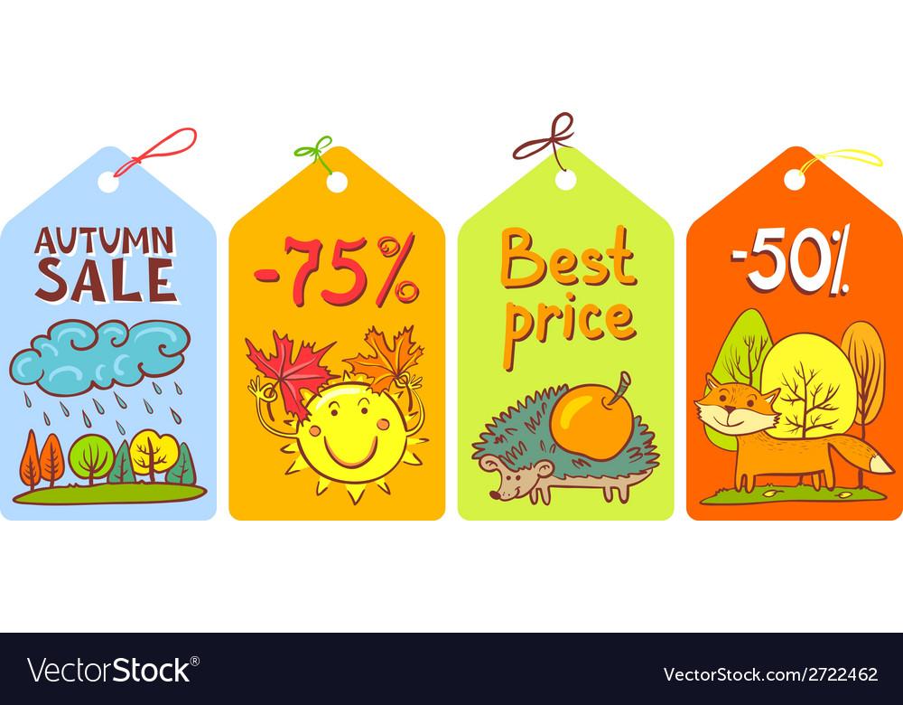 Season tags vector | Price: 1 Credit (USD $1)