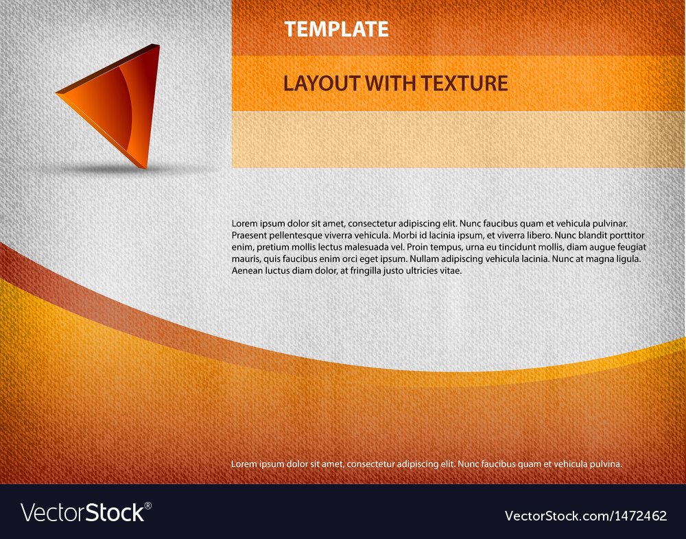 Template orange curve vector | Price: 1 Credit (USD $1)
