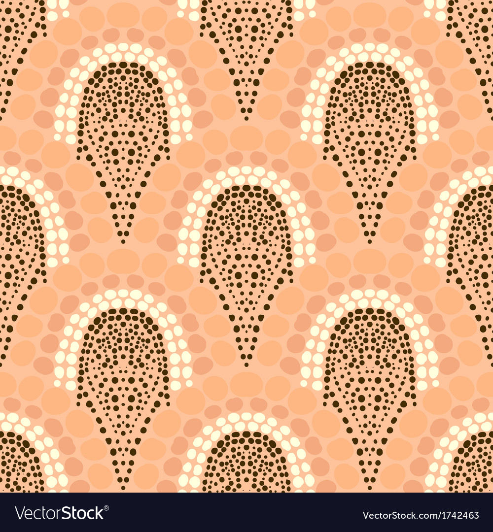Geometric pattern in art deco style in soft colors vector | Price: 1 Credit (USD $1)