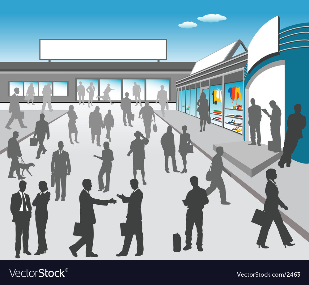 Mall illustration vector | Price: 5 Credit (USD $5)