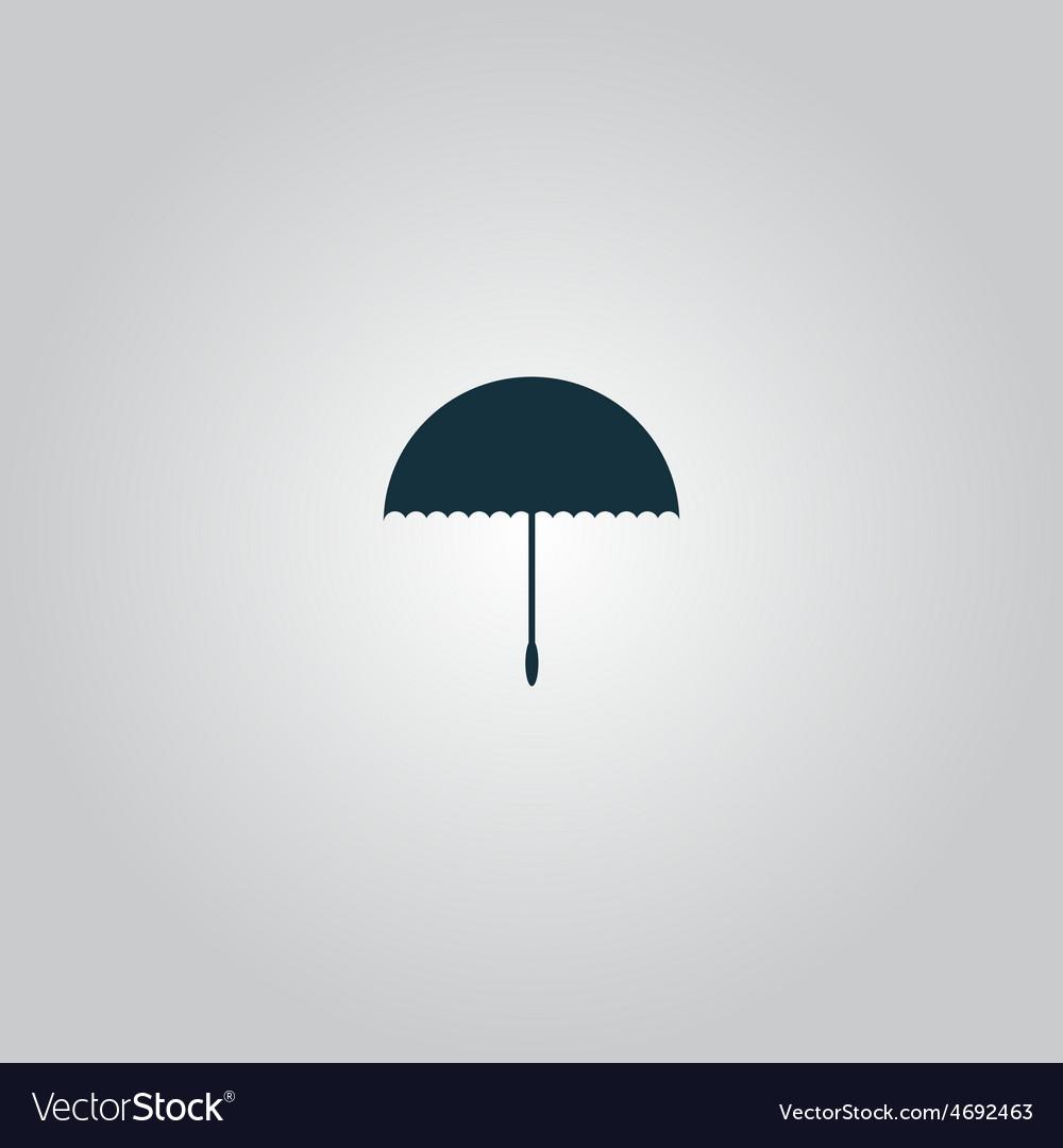 Umbrella icon - vector | Price: 1 Credit (USD $1)