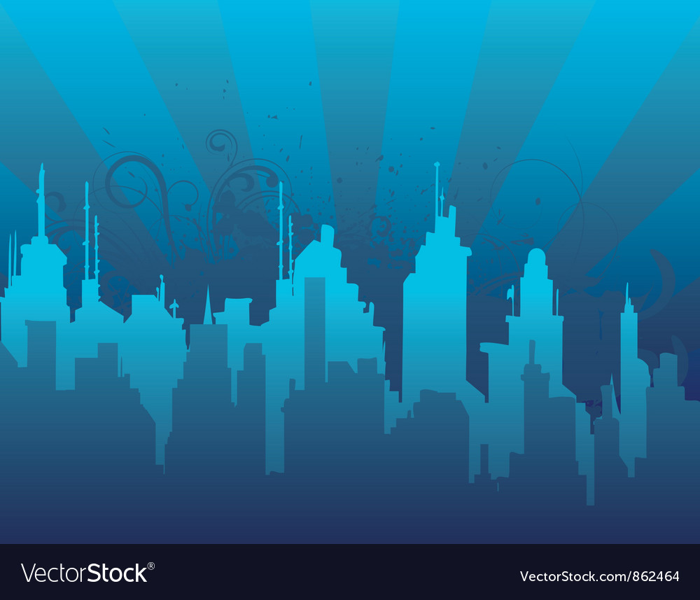 Abstract urban background vector   Price: 1 Credit (USD $1)