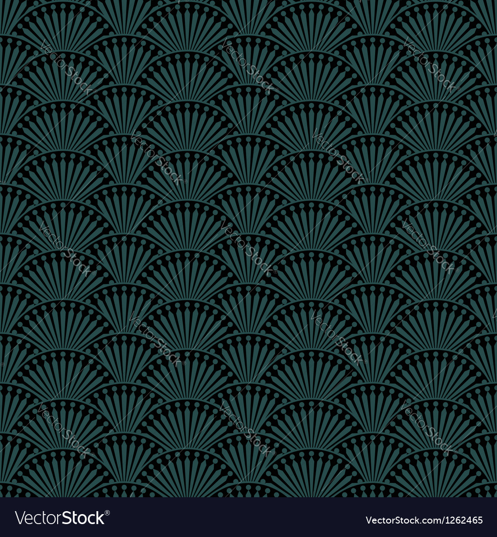 Abstract seamless pattern in retro style vector | Price: 1 Credit (USD $1)