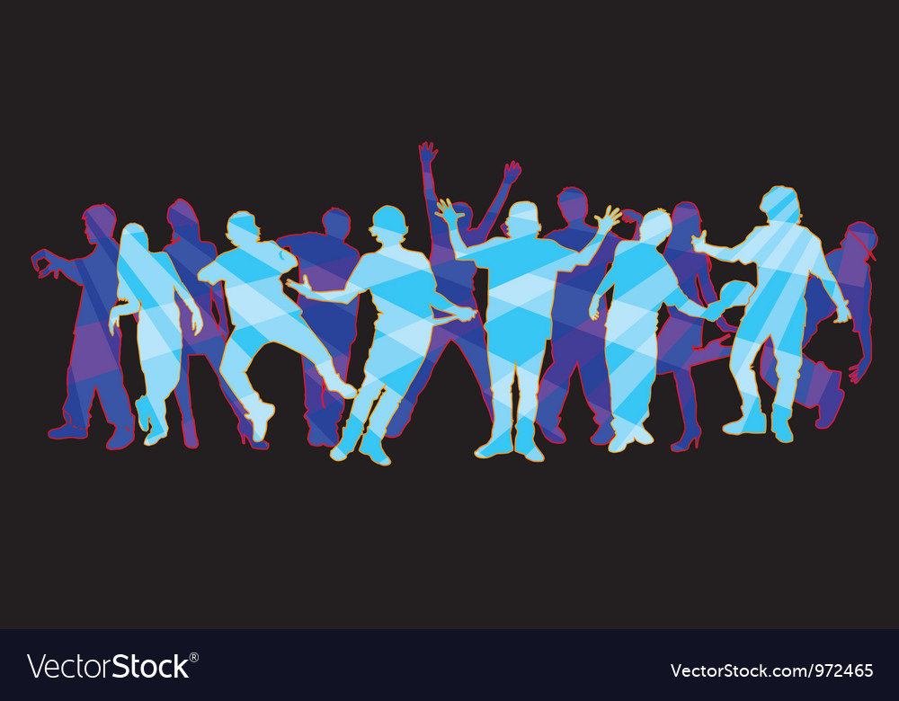 Dancers 2 vector | Price: 1 Credit (USD $1)