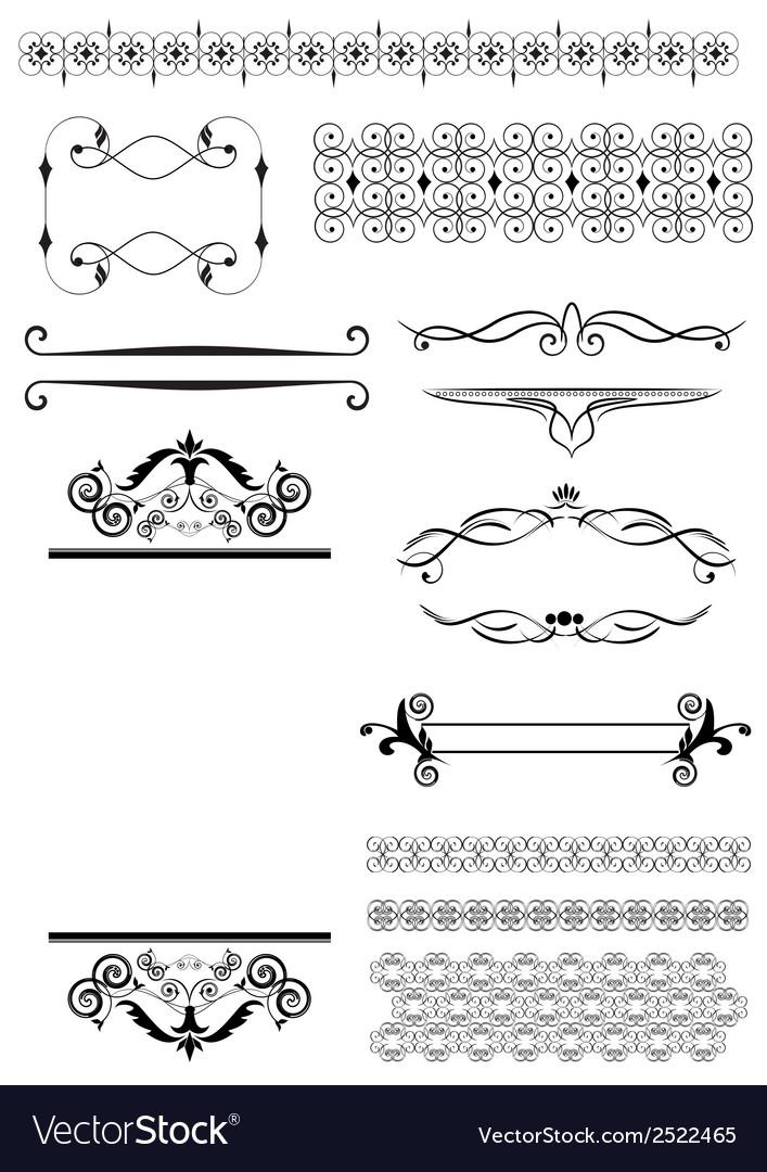 Decorative design elements vector   Price: 1 Credit (USD $1)
