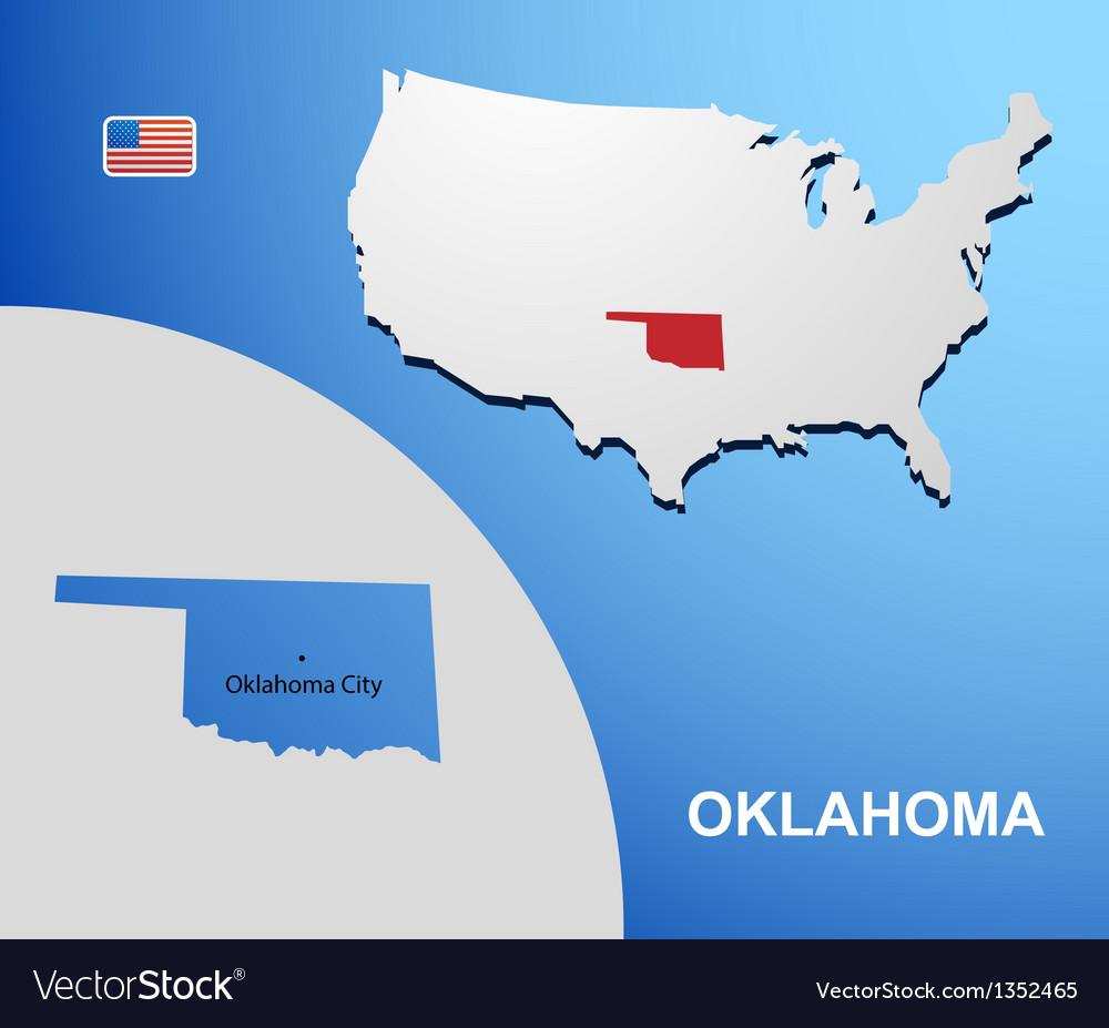 Oklahoma vector   Price: 1 Credit (USD $1)