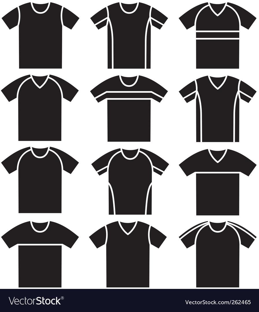Tshirts vector | Price: 1 Credit (USD $1)