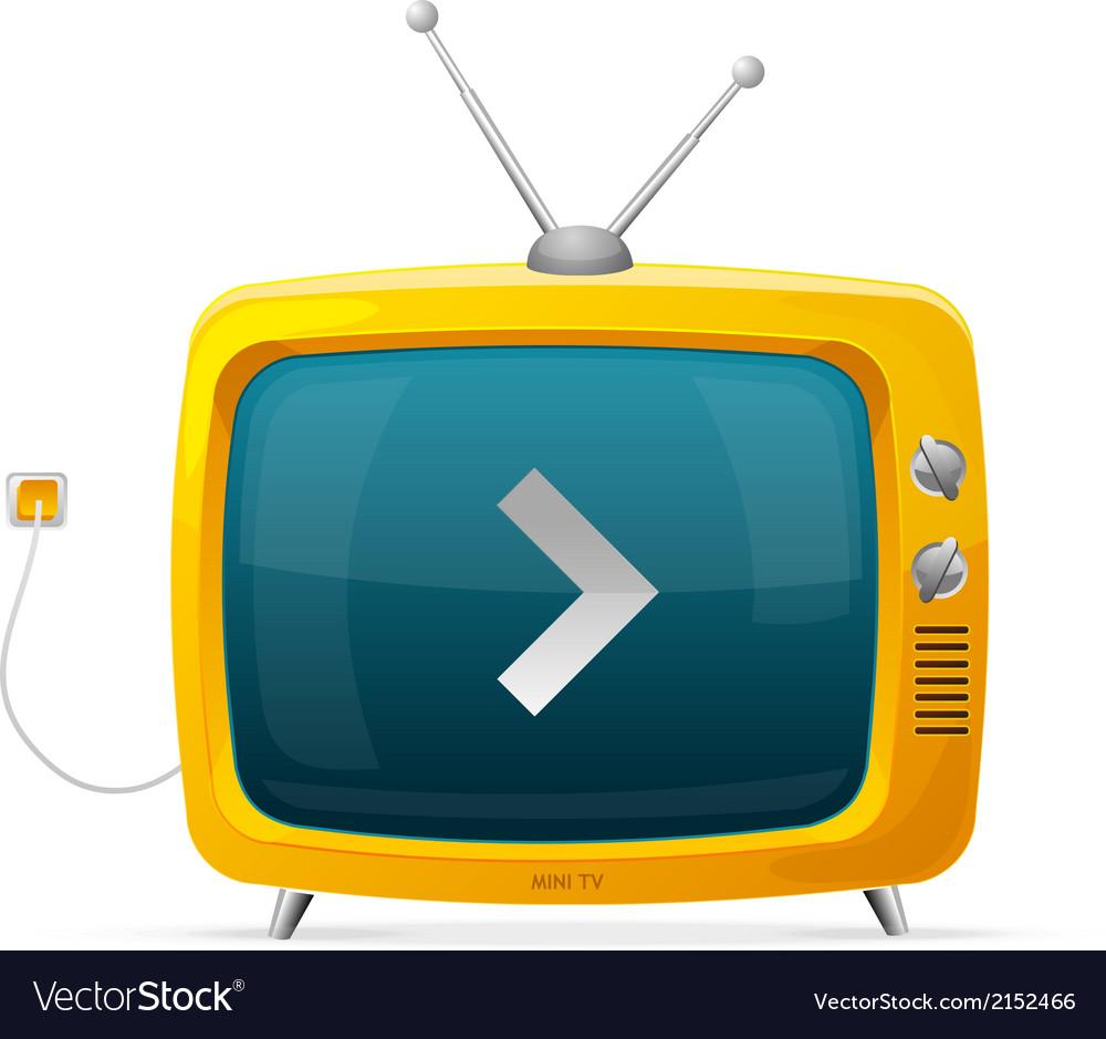 Tv vector | Price: 1 Credit (USD $1)