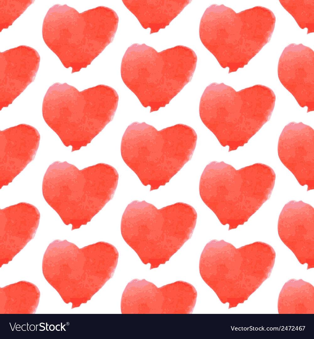 Aguarel heart vector | Price: 1 Credit (USD $1)