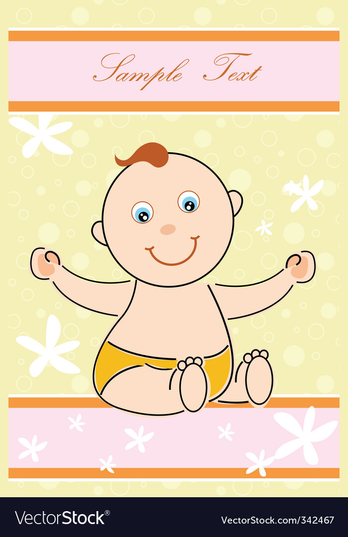 Children's day card vector | Price: 1 Credit (USD $1)
