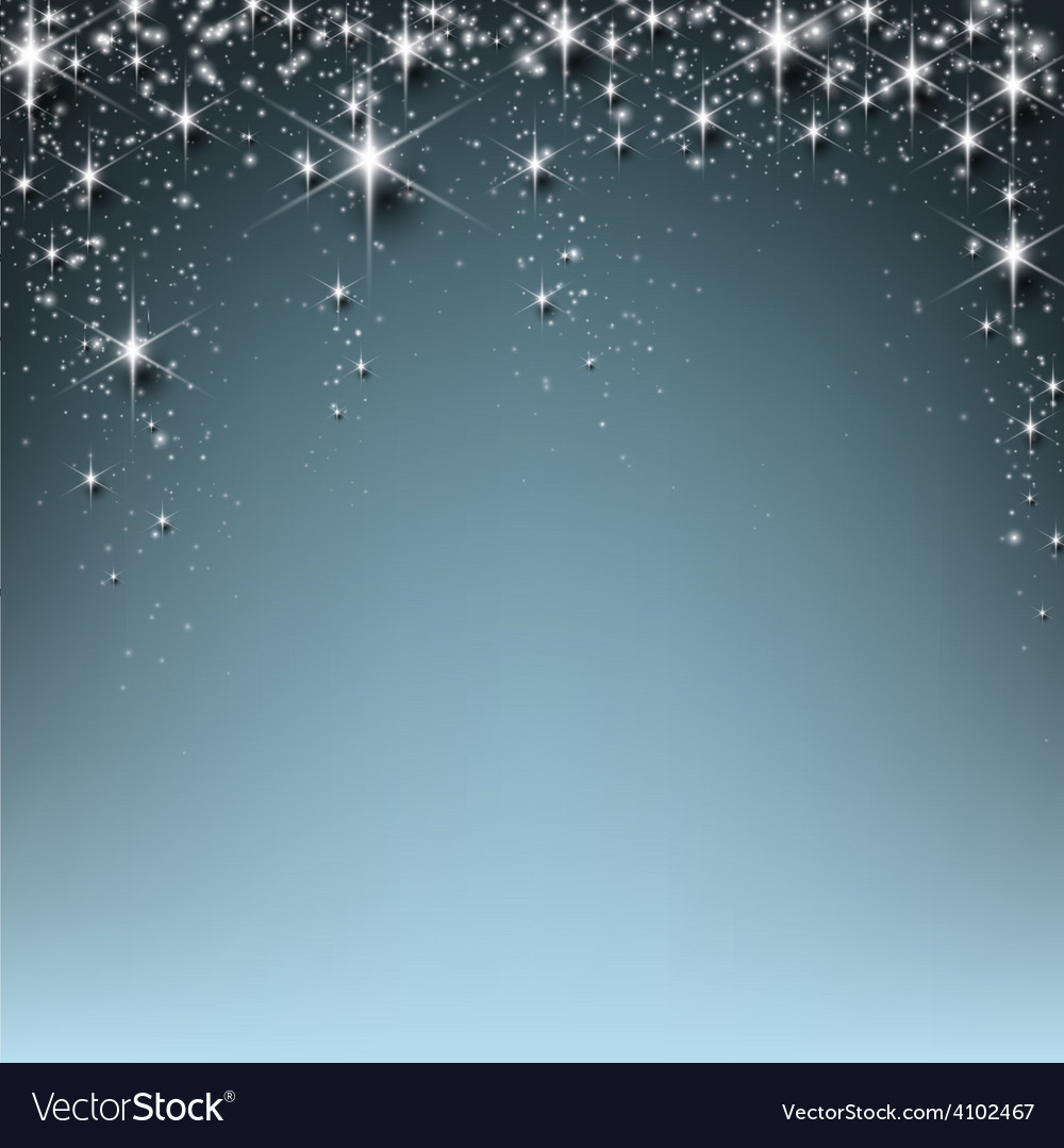 Christmas starry background vector | Price: 1 Credit (USD $1)