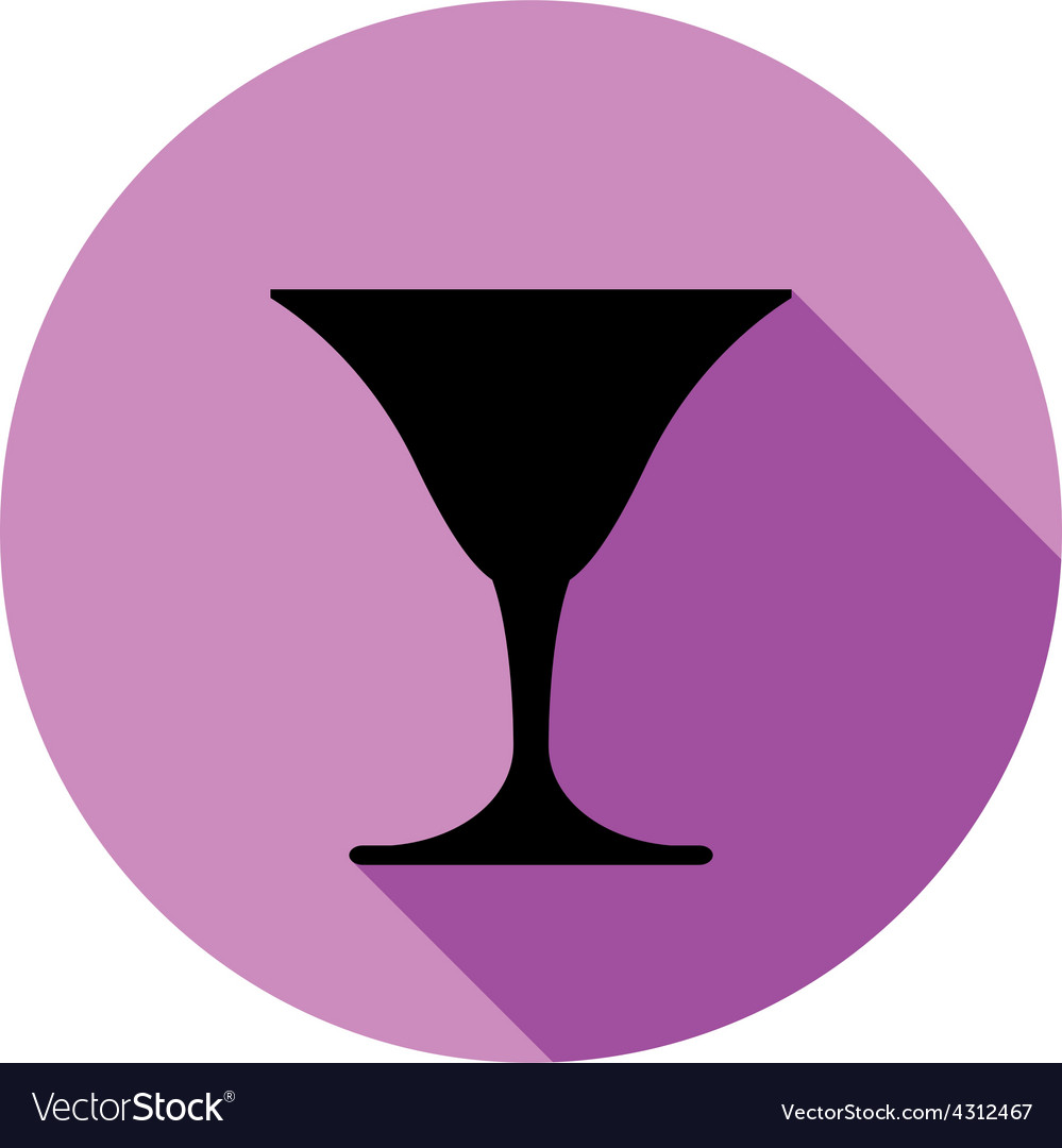 Classic full martini glass alcohol and vector   Price: 1 Credit (USD $1)