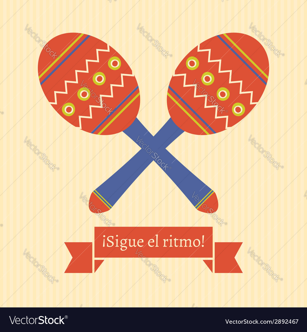 Sigue el ritmo vector | Price: 1 Credit (USD $1)