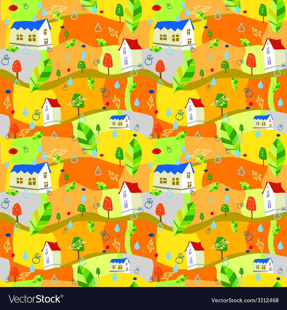 Autumn-pattern vector | Price: 1 Credit (USD $1)