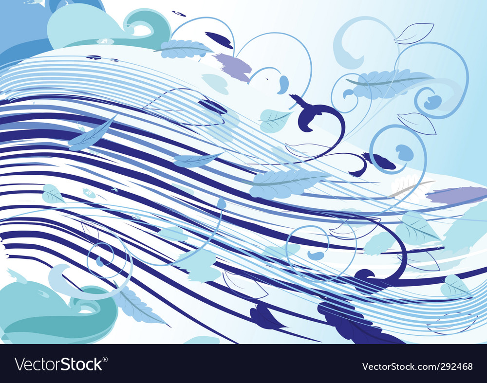 Icy wind vector | Price: 1 Credit (USD $1)