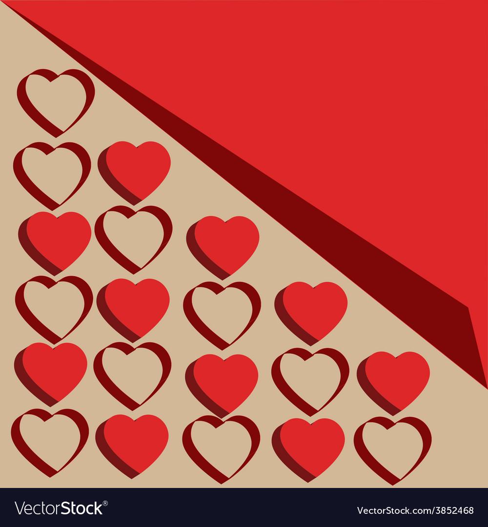 Set of symbol heart vector | Price: 1 Credit (USD $1)