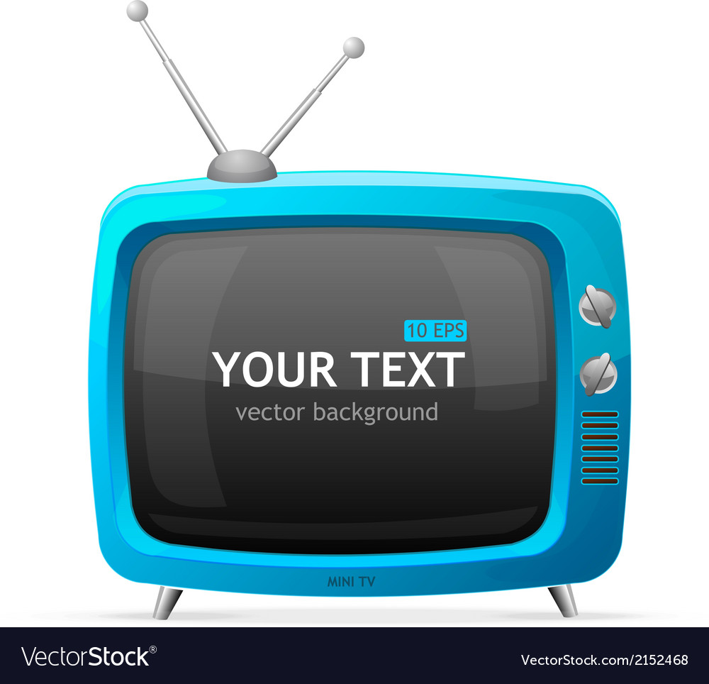 Tv blank vector | Price: 1 Credit (USD $1)