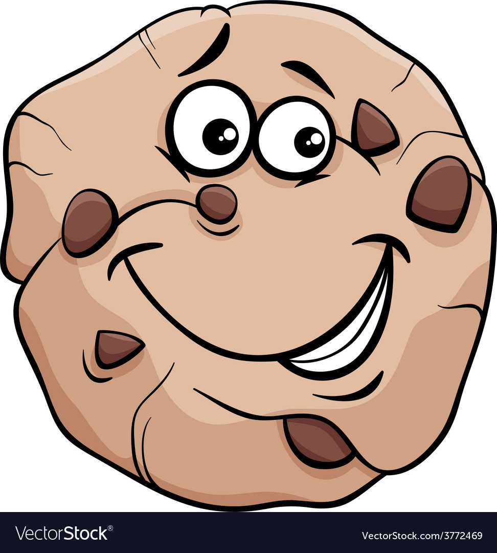 Cookie cartoon vector | Price: 1 Credit (USD $1)