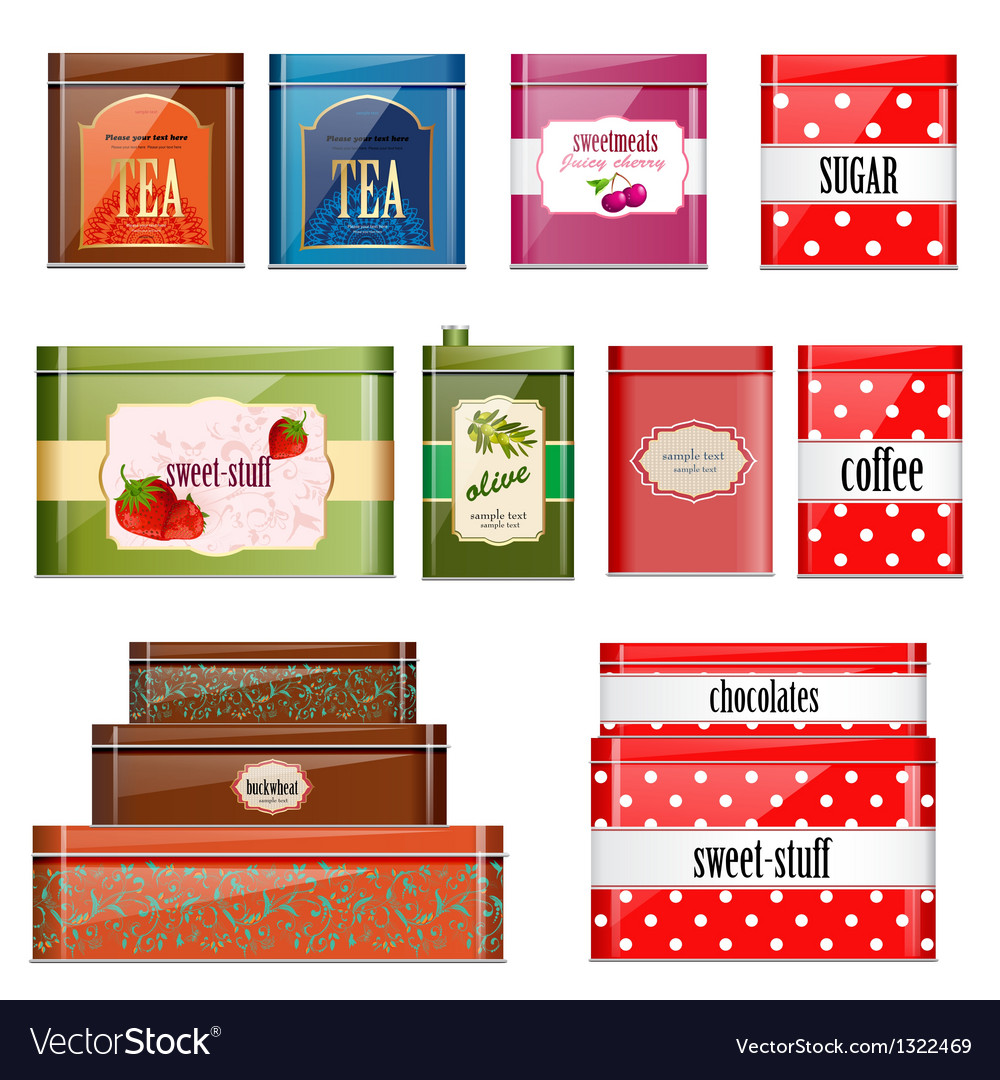 Food tin can vector | Price: 1 Credit (USD $1)