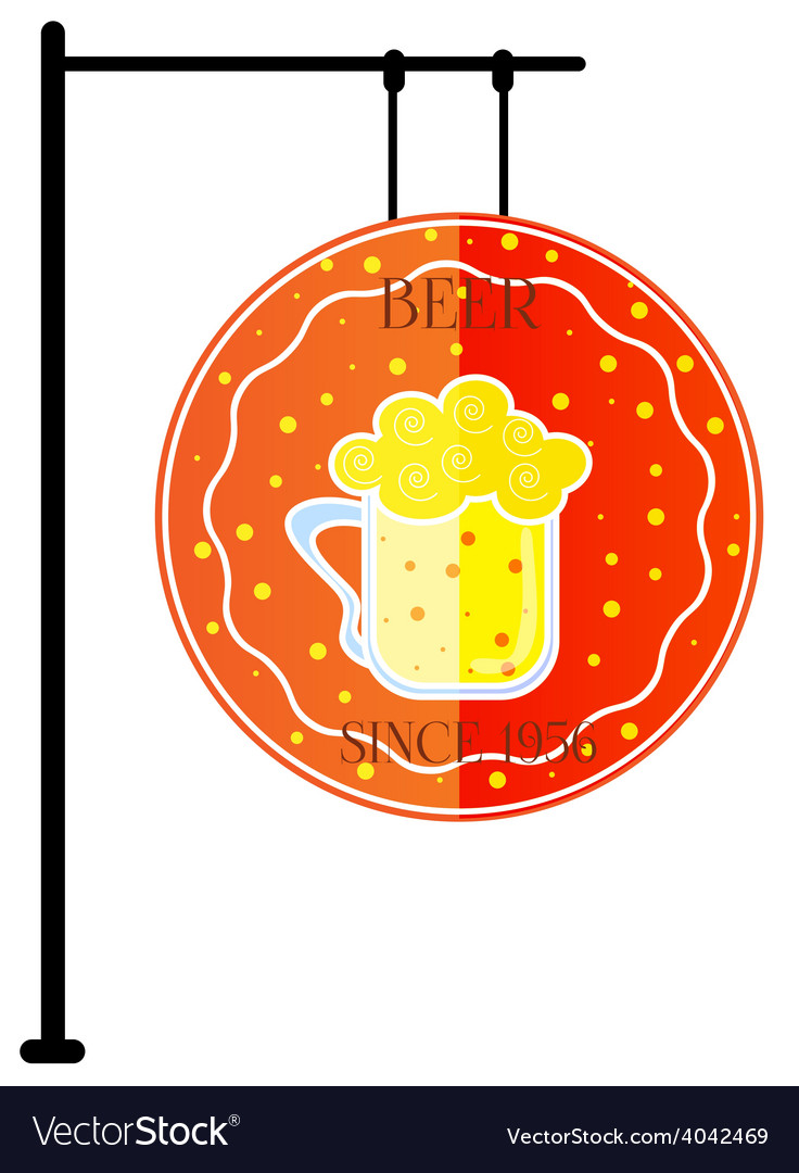 Modern styled beer mug vector | Price: 1 Credit (USD $1)