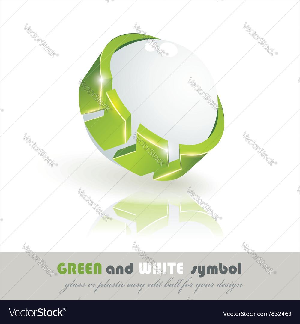 Sphere 3d design vector | Price: 1 Credit (USD $1)