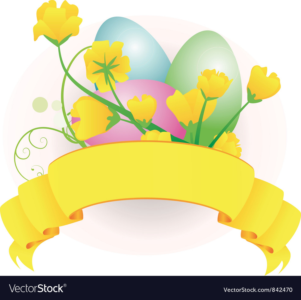 Eggs scroll vector | Price: 1 Credit (USD $1)