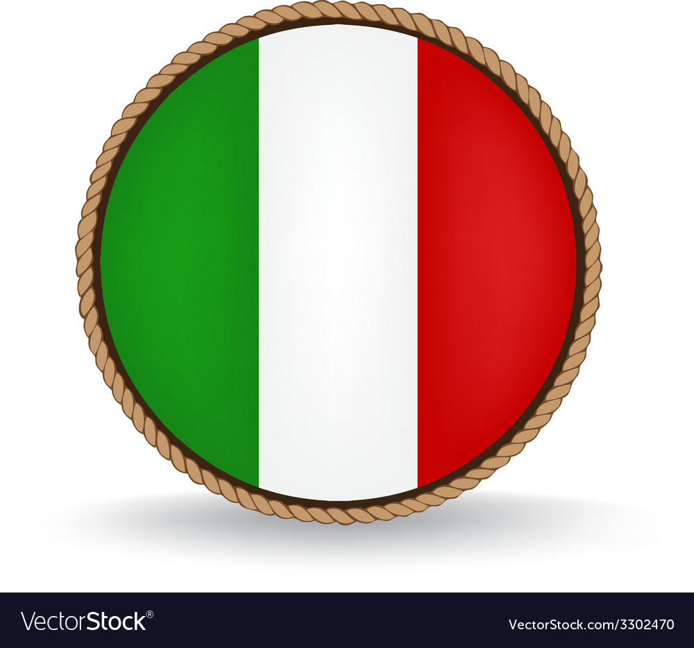 Italy seal vector | Price: 1 Credit (USD $1)
