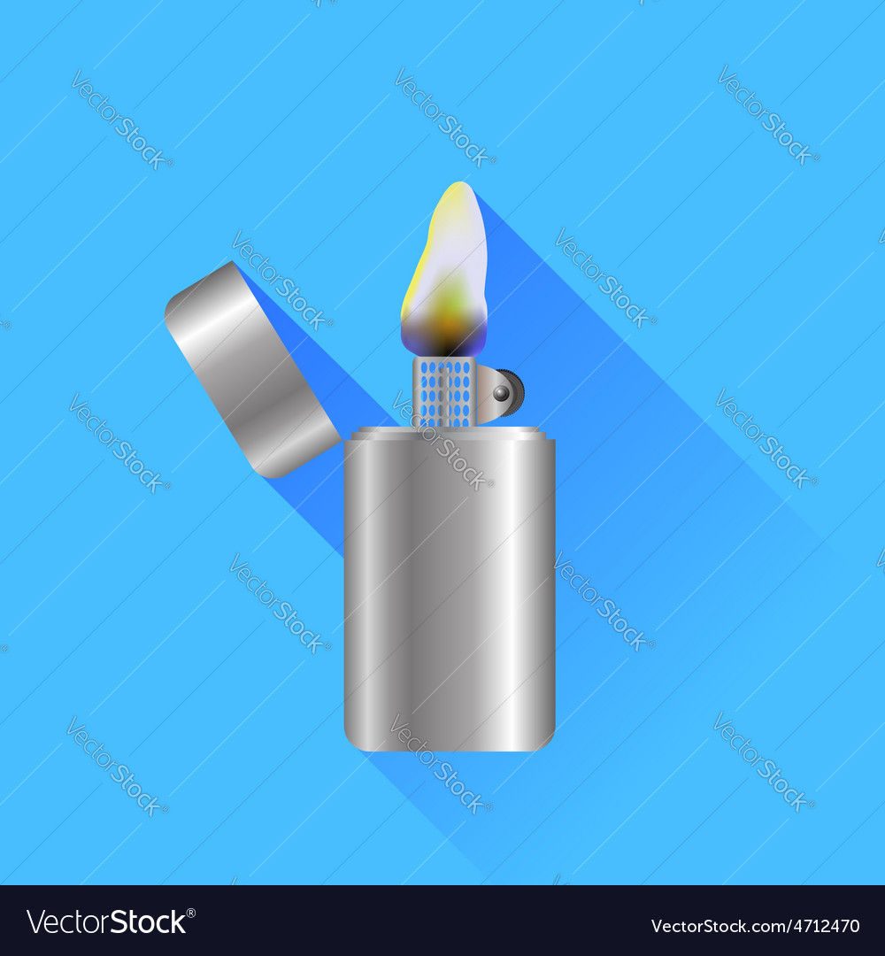 Lighter vector | Price: 1 Credit (USD $1)