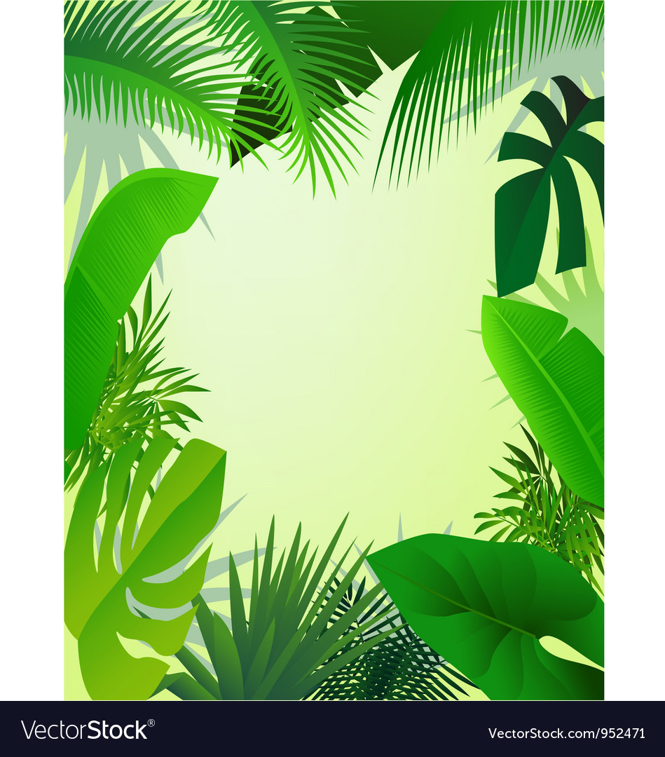 Beautiful forest background vector | Price: 1 Credit (USD $1)