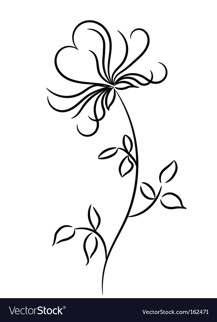 Flower graphic design vector | Price: 1 Credit (USD $1)