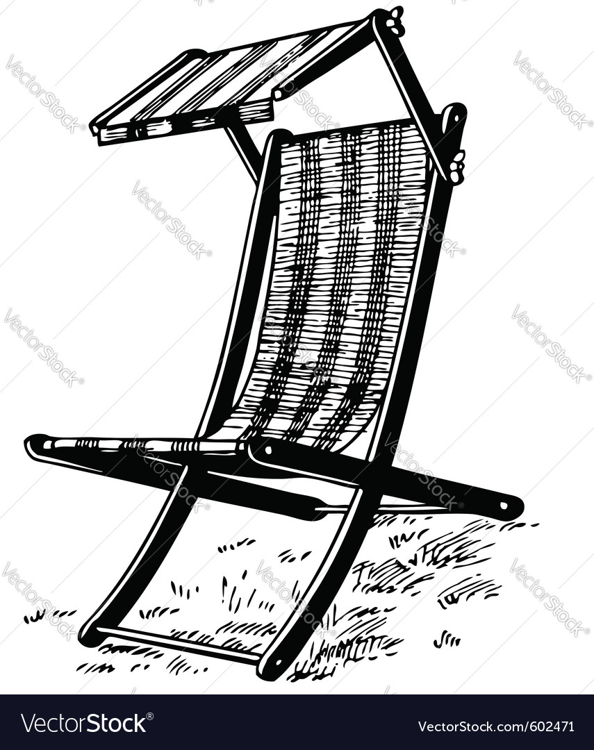 Garden chair vector | Price: 1 Credit (USD $1)
