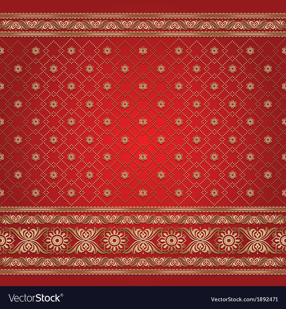 Indian background pattern vector | Price: 1 Credit (USD $1)