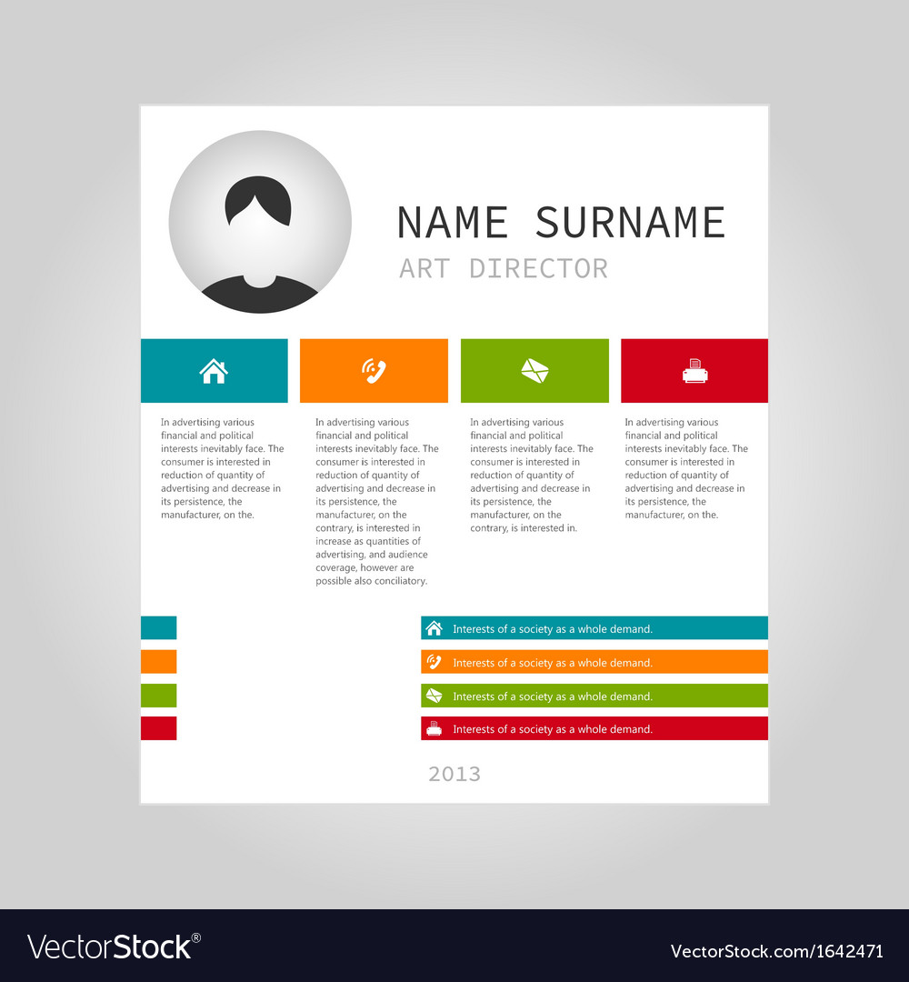 Info graphic person vector | Price: 1 Credit (USD $1)