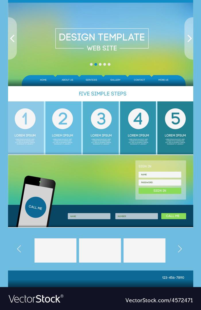 Landing page web vector   Price: 1 Credit (USD $1)