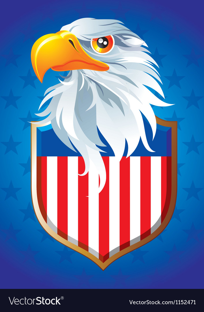 Symbol of usa vector | Price: 3 Credit (USD $3)