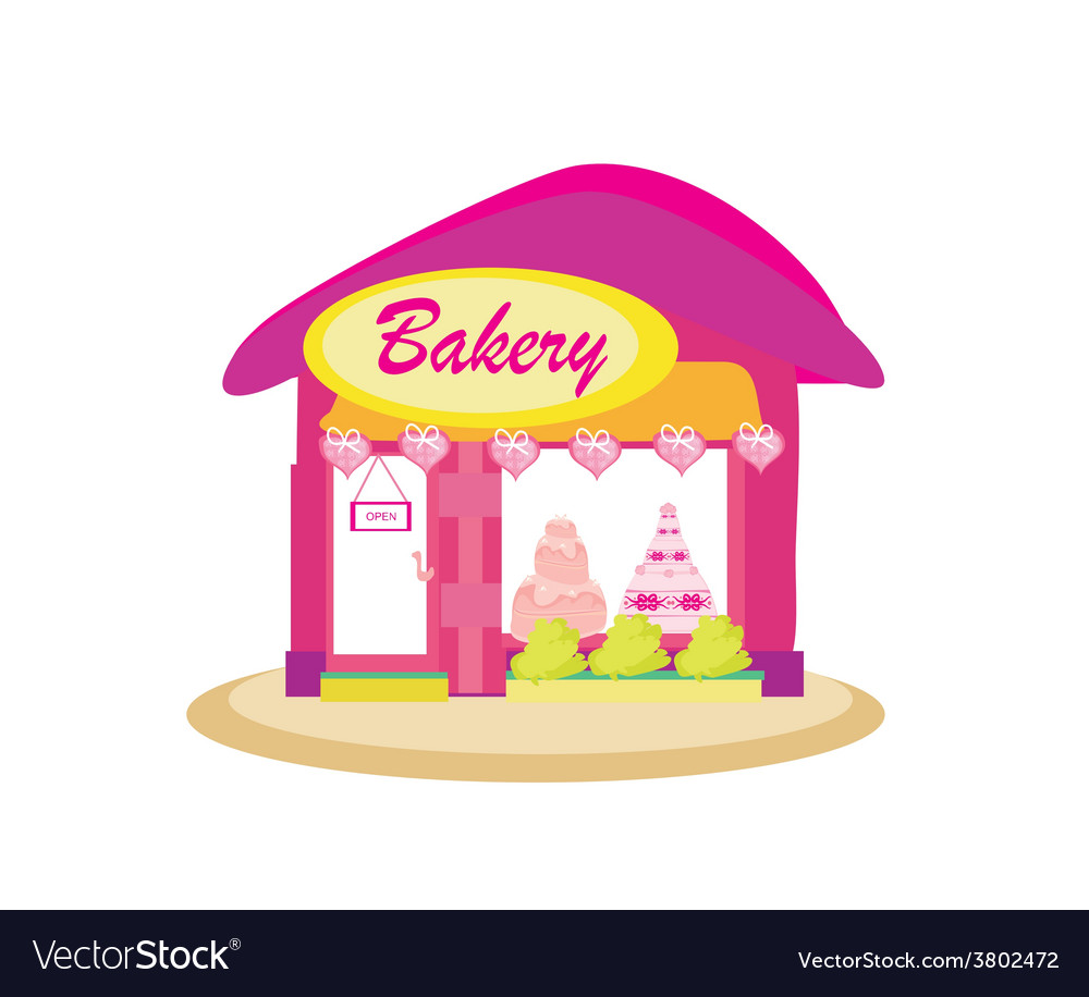 Bakery shop vector | Price: 1 Credit (USD $1)