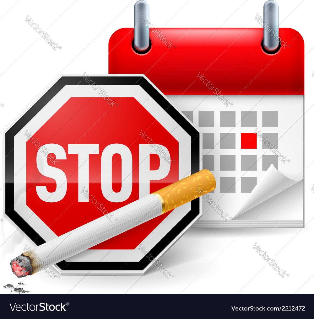 No smoking day icon vector | Price: 1 Credit (USD $1)