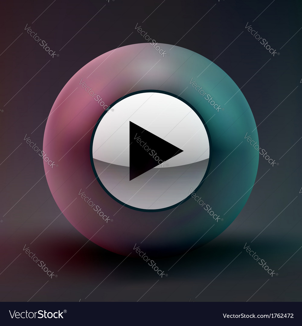Play icon vector   Price: 1 Credit (USD $1)