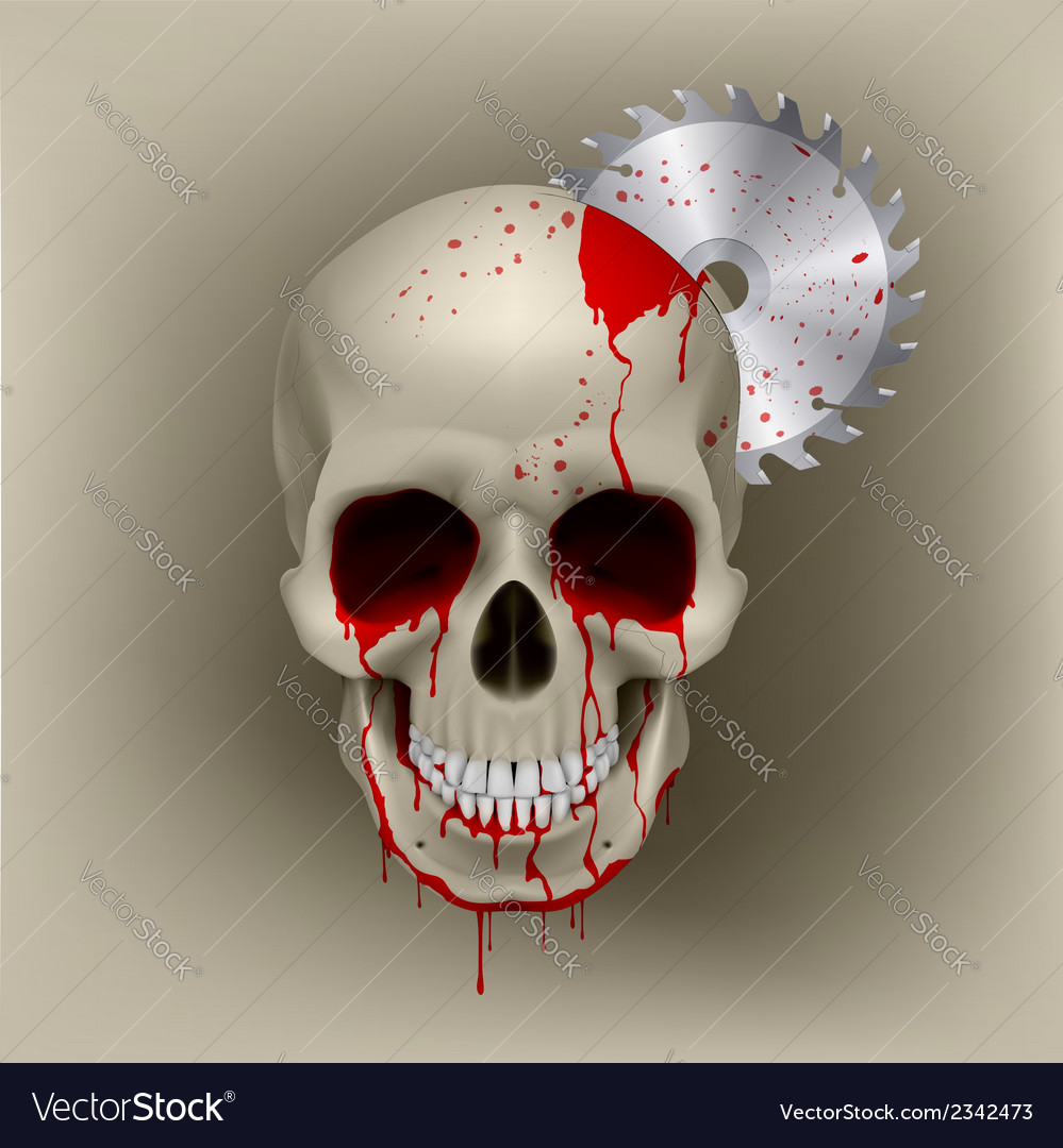Skull dead vector | Price: 1 Credit (USD $1)
