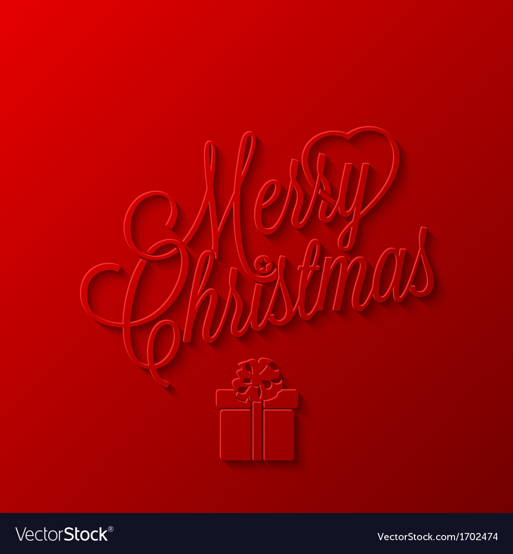 Holiday frame happy merry christmas new year vector | Price: 1 Credit (USD $1)
