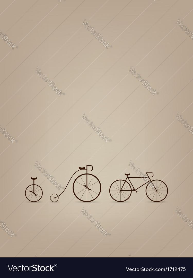 Bike card vector | Price: 1 Credit (USD $1)