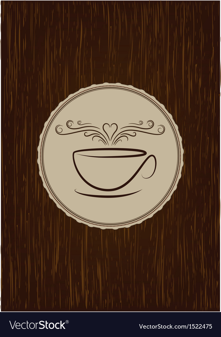 Coffe house menu cover vector   Price: 1 Credit (USD $1)